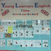 Young Learners English Time With Mr and Mrs Ward